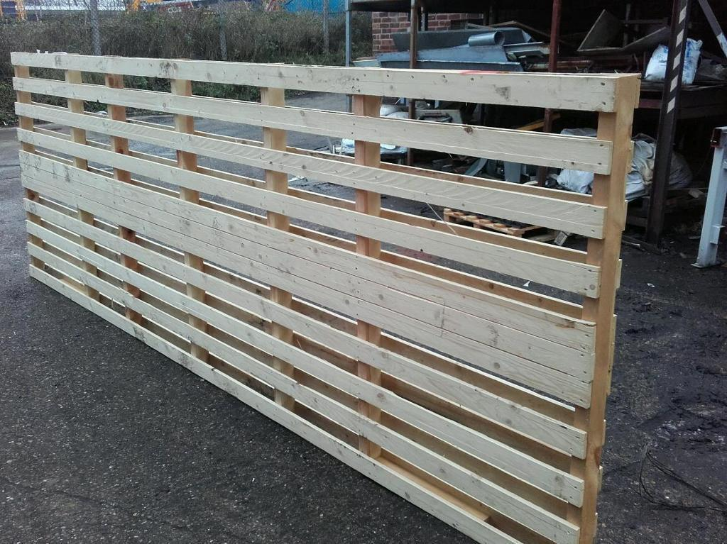 fencing panels ranch style long pallets in pinxton