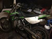 Kawasaki kx85 big wheel. 2010 model. Good going bike