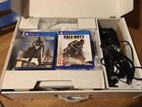 PS4 500gb Jet Black original box Destiny Bundle + COD Advanced Warfare
