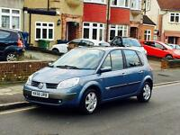 Renault Scenic 1.6, Long Mot, Full Service History, Low Mileage,Only 1 Former Keeper,Huge Boot Space