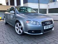 AUDI A4 2.5 TDI V6 S LINE, 6 SPEED MANUAL, 2005, VERY RARE CAR WITH 1 PREVIOUS OWNER