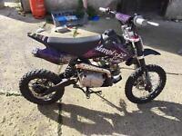 110cc pit bike, motocross