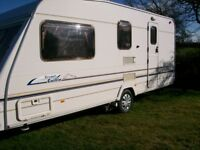 sterling cuillin cruach 2002 4 berth full end washroom new tyres serviced