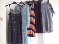 LADIES CLOTHING BUNDLE 40 DRESSES / SKIRTS SIZE 8 & 10 SOME BNWT VGC WILL SPLIT SEE DESCRIPTION