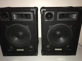 2x 400w ekho speakers
