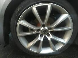 Vauxhall 18inch wheels good tyres