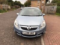 2008 Vauxhall Corsa 1.3 CDTi 16v Club 5dr Manual @07445775115@
