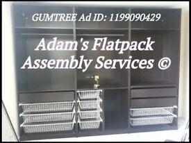 FLAT PACK FURNITURE ASSEMBLY & DISMANTLE, IKEA PAX WARDROBE SPECIALIST, FLATPACK HANDYMAN/ASSEMBLER