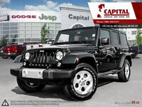 2014 Jeep Wrangler Unlimited Sahara | NAV | HEATED LEATHER