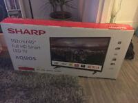 ***BRAND NEW & SEALED ***40 INCH SMART TV FULL HD LED TV / HARMON KARDON SOUND SYSTEM BUILT IN