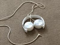 Phillips Headphones White