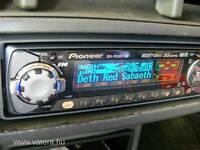 PIONEER DOLPHIN CD PLAYER FLIP DOWN.
