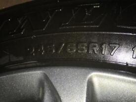 Dunlop AT20 Grandtrex 245/65R17 Tyres