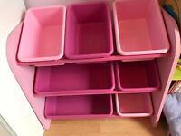 Pink Next storage unit