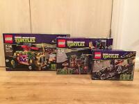 Collection of Lego Teenage Mutant Ninja Turtles sets. All brand new and sealed