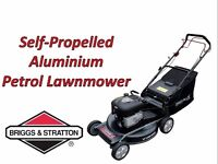 "FREE Delivery ! Call us Now! Briggs & Stratton 22"" Self Propelled Petrol Lawnmower 6hp Aluminium"