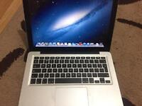 MacBook Pro late 2011 ,2.4ghz core i5 , 4gb ram ,500gb sata disk comes with a charger