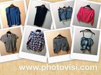 Womens size 10 various clothes bundle - 8 items - cardigan, skirt, tops etc