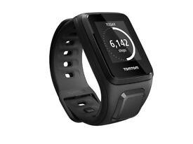 TomTom Spark Cardio + Music GPS Watch Bike, Gym, Swim, Treadmill New Size L + S
