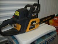 McCulloch MAC 7-40 chain saw. Hardly used. Fully functional. Small and light but powerful.V clean.