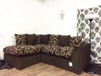 New Brady corner sofa**Free delivery**