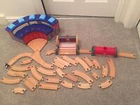 Wooden Toy Train Set (brio)