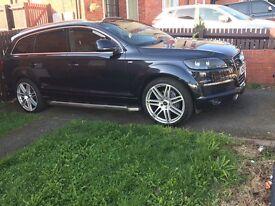 Audi Q7 s line 3.0 Quattro please call me on 07981340395