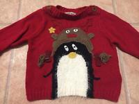 3-6month Christmas jumpers