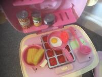 Early learning centre mini kitchen and cash register toys
