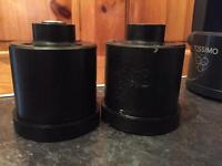 Vw/audi rear trailing arm poly bushes brand new