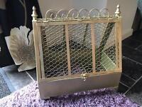 Gold Wedding card cage / holder