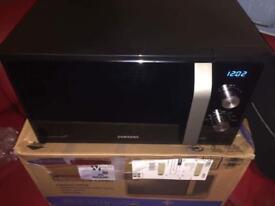 Brand-new Samsung ceramic microwave