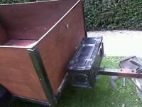 Car box trailer ( ideal camping or tip runs)