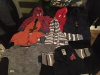 Boys 3-6 winter clothes