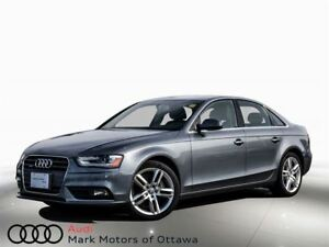 2014 Audi A4 2.0 Technik *Certified!*
