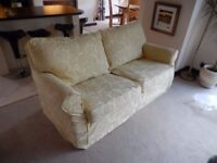 Sofa, 3 Seater with loose covers