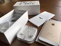 Apple iPhone 5s Gold + white 16gb Unlocked