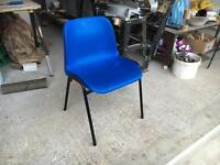 SET OF 18 PLASTIC CHAIRS
