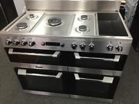 **JANUARY SALE** New Graded Leisure CS110F722 110cm Range Cooker - Stainless Steel RRP £1,199.00