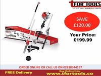 Proplus Petrol Strimmer 5 in 1 Tool 33cc Chainsaw hedge cutter extension pole