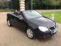 57 Plate Volkswagen Eos hard top convertible may swap or px