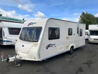2007 BAILEY PAGEANT SERIES 6 PROVENCE - 5 BERTH TOURING CARAVAN - L-SHAPE LOUNGE & END BEDROOM!