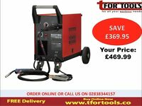 Sealey MIGHTYMIG210 Professional Gas / no-gas Mig Welder 210amp With Euro Torch