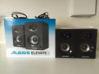 Alesis Elevate 3 Powered Desktop Studio Speakers