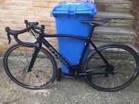 B'twin Alur 700 Road Bike with upgrades