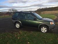 Land Rover freelander 4x4 long mot £650 may swap