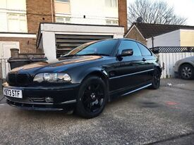 BMW 3 series 325 ci sport - full leather interior - broken differential but can be driven away