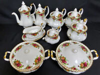 Wanted - Royal Albert china, large dinner, tea, coffee set