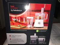 BRAND NEW SAINSBURY'S FOOD PROCESSOR