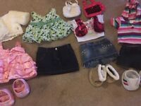 Build a Bear clothes and shoes